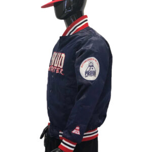 Proud Detroiter Blue starter Jacket side