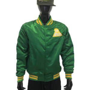 Proud Detroiter Green starter Jacket