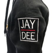 Proud Detroiter Jay Dilla embroidered hoodie