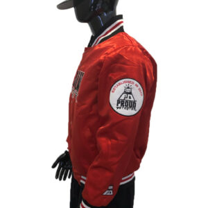 Proud Detroiter Red starter Jacket side