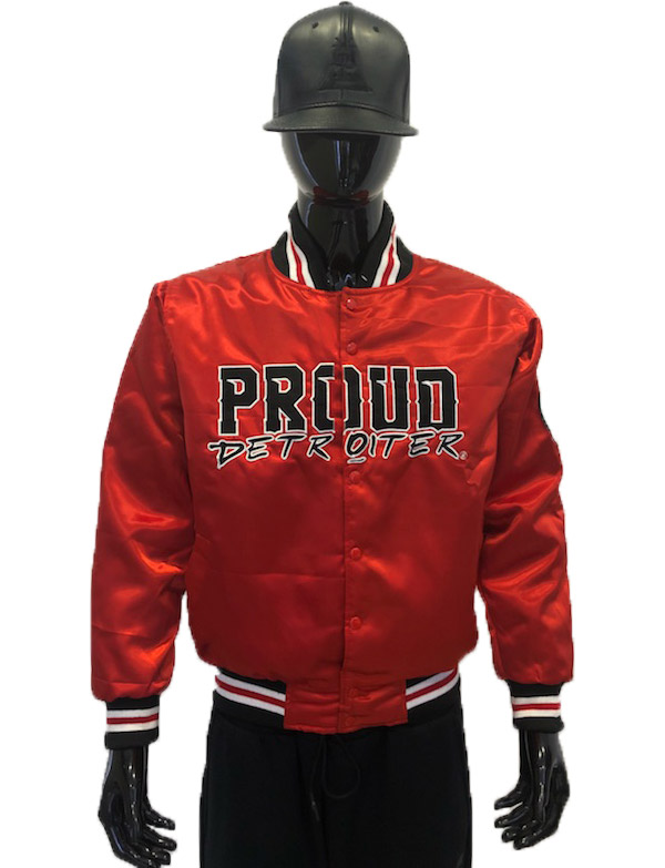 Proud Detroiter Red starter Jacket