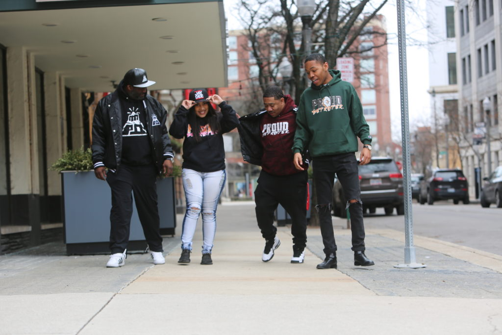 Proud Detroiter Hoodies and Jackets