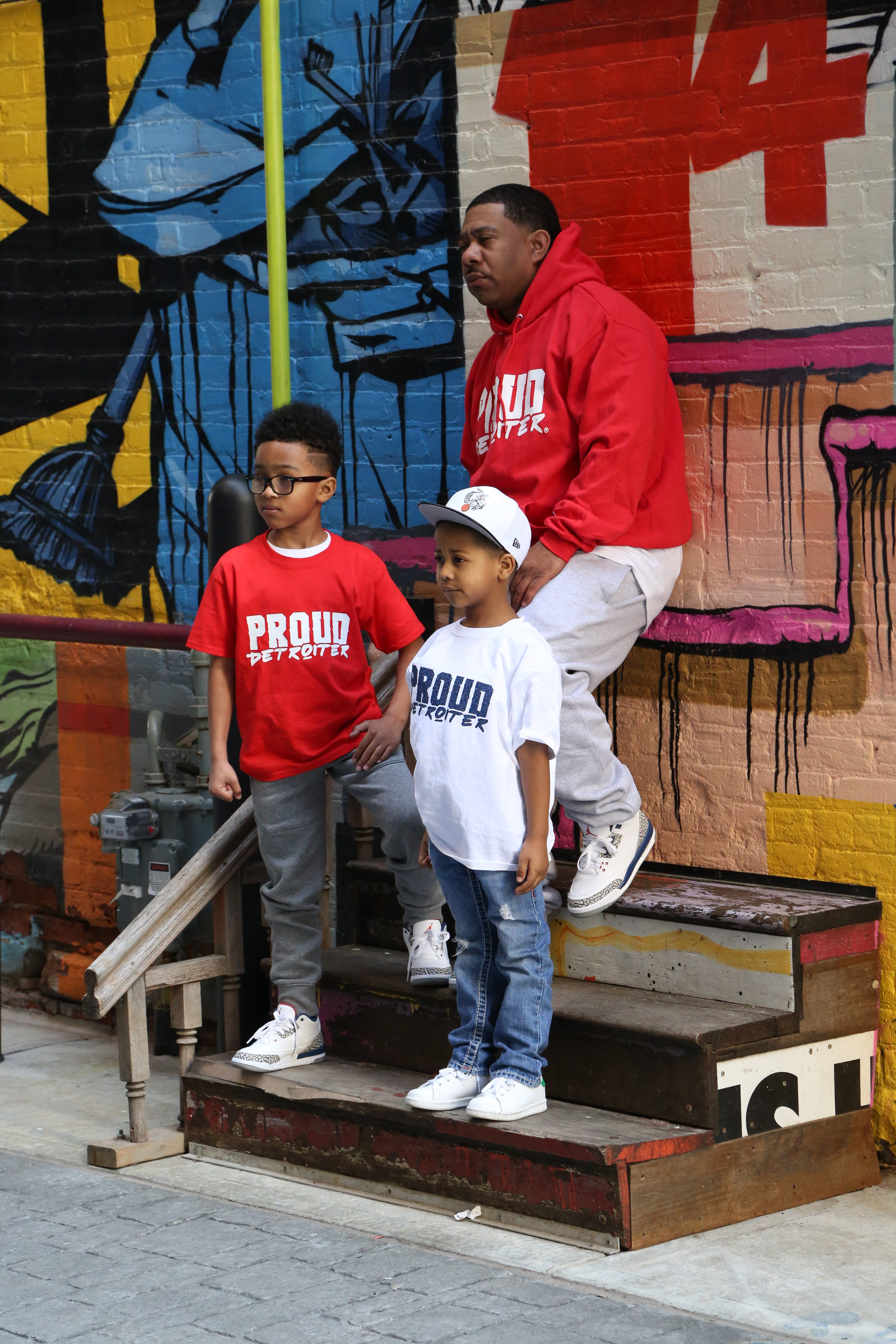Proud Detroiter Family Clothing
