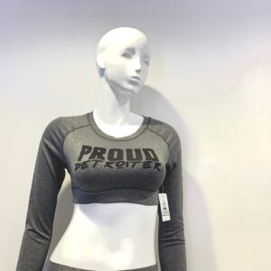 Proud Detroiter Crop Top
