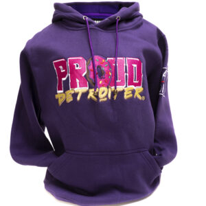 Proud Detroiter Embroidered Hoodie